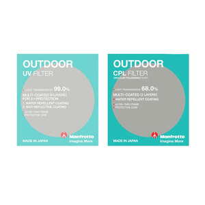 Manfrotto Outdoor UV + CP Filter Kit