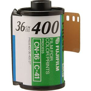 Fujifilm Superia X-TRA 400 ISO - 35mm Film