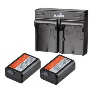 Jupio Twin Rechargeable Sony NP-FW50 Charger Kit