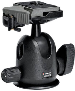 Manfrotto 496RC2 Micro Ball Head with QR