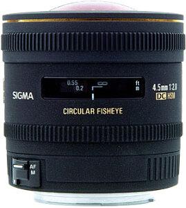 Sigma Lens 4.5mm f/2.8 EX DC Circular Fisheye HSM