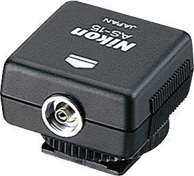 Nikon Sync Terminal Adapter #AS-15