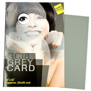 Danes-Picta 18% Grey Card # GC18