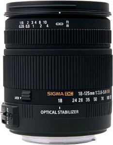 Sigma 18-125mm f3.8-5.6 DC OS HSM Lens - Pentax Mount
