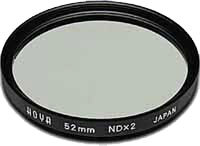 52mm Hoya Neutral Density 2x (ND2) HMC Filter