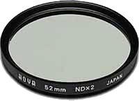 55mm Hoya Neutral Density 2x (ND2) HMC Filter