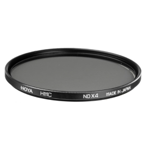55mm Hoya Neutral Density 4x (ND4) HMC Filter