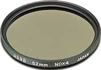 58mm Hoya Neutral Density 4x (ND4) HMC Filter
