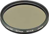 72mm Hoya Neutral Density 4x (ND4) HMC Filter