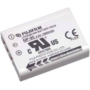 Fujifilm NP95 Li-Ion Rechargeable Battery for Fuji Cameras