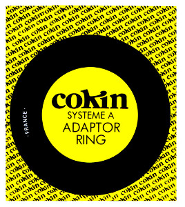 Cokin A-Series Adapter Ring