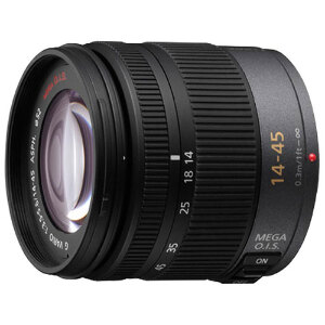 Panasonic Lumix G Vario 14-45mm f/3.5-5.6 ASPH. MEGA O.I.S. Lens - Micro Four Thirds