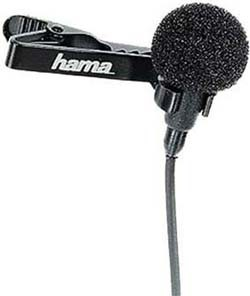 Hama Clip-On Lavalier Microphone #LM-09