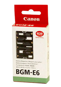 Canon Battery Magazine #BGM-E6
