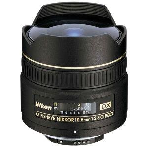 Nikon AF DX Nikkor Fisheye 10.5mm f/2.8G ED Lens