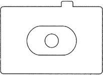 Canon Bright Laser Matte Focus Screen #ec-N