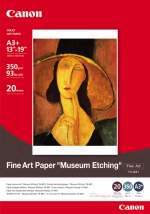 Canon Fine Art Museum Etching Paper A3+ 20pk #FAME1A3+20