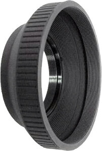 55mm Rubber Lens Hood Screw-in