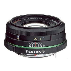 Pentax Lens 70mm f/2.4 LTD Black DA