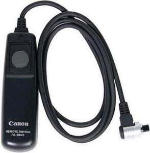 Canon Remote Switch For Canon EOS d-SLR Cameras  Remote Switch RS-80N3