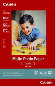 "Canon Matte Photo Paper 4""x6"" 120pk  #MP-101"