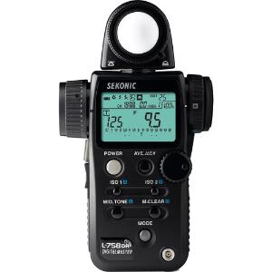 Sekonic Digitalmaster L-758DR Light Meter with Transmitter