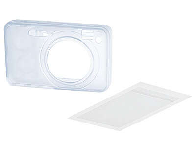 Sony Silicone Jacket Case & LCD Protector for W150 #LCJWA