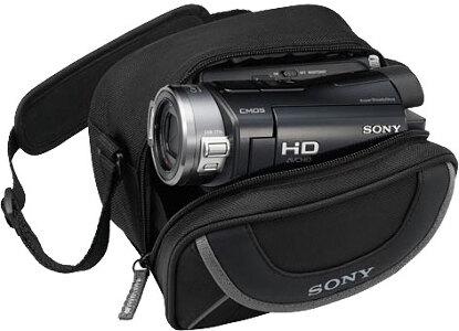 Sony Video Camera Case #LCS-X10 Black