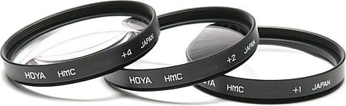 Hoya 37mm Close Up 1+2+4 Filter Set