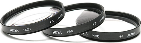 Hoya 72mm Close Up 1+2+4 Filter Set