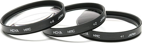 Hoya 72mm Close Up 1+2+4 Filter Set