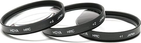 Hoya Close Up 1+2+4 Filter Set