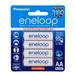 Eneloop 4x AA Rechargeable Batteries