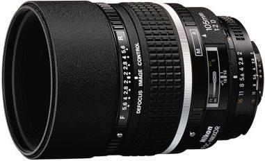 Nikon AF Nikkor 105mm f/2D DC (Defocus Control) Lens