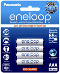 Panasonic Eneloop 4x AAA Rechargeable Batteries