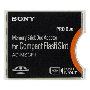 Sony Memory Stick to Compact Flash Adapter #AD-MSCF1