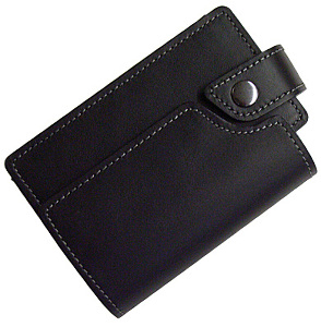 Ricoh Black Leather Camera Case for Ricoh R8 / R10
