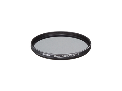 58mm - Canon Circular Polarising Filter