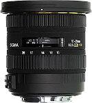 Sigma 10-20mm f3.5 EX DC HSM Lens