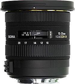 Sigma Lens 10-20mm f/3.5 EX DC HSM