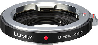 Panasonic Leica M adapter for Micro FT Cameras