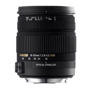 Sigma Lens 18-50mm f/2.8-4.5 DC OS HSM - Pentax Mount