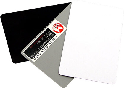 Micnova Grey/White/Black Card - Large (20x30)
