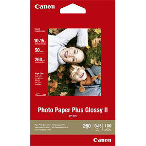 Canon Photo Paper Plus Glossy II 4x6 100 pk #PP-2014X6-100