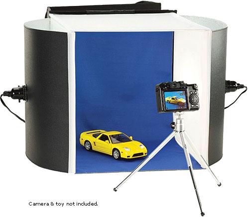 optex mini photo studio kit digital camera warehouse. Black Bedroom Furniture Sets. Home Design Ideas