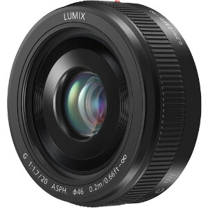 Panasonic Lumix G 20mm f/1.7 II ASPH Lens