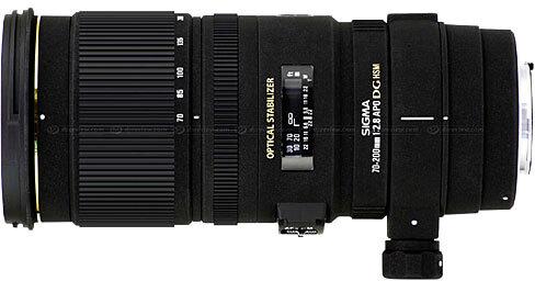 Sigma Lens 70-200 f2.8 APO EX DG OS HSM