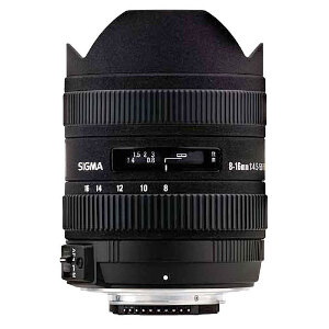 Sigma Lens 8-16 mm F/4.5-5.6 DC HSM