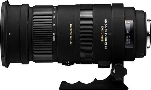 Sigma Lens 50-500mm f/4.5-6.3 APO DG OS HSM