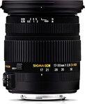 Sigma 17-50mm f/2.8 DC lens